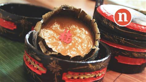 new year ti kuih glutinous rice cake kuih bakul nin gou nian gao 年糕