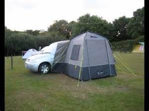 How To Build A Awning Our Berlingo Camping Car Youtube