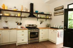 Interior Decoration Of Kitchen the benefits of open shelving in the kitchen hgtv s decorating