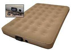 size rv trailer cer sofa air bed mattress w remote