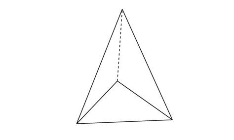 How To Make A Triangular Pyramid Out Of Paper - maths a to z school a to z