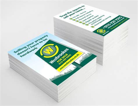 leaflet design for estate agents andrew burdett design leaflet postcard design company
