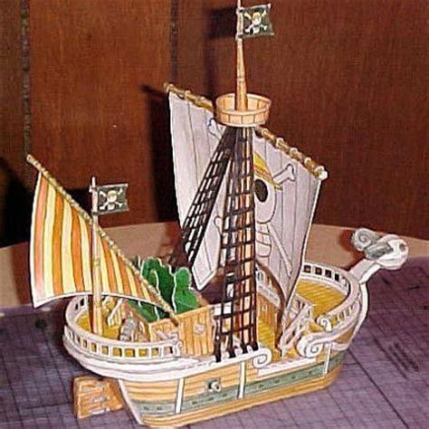 Going Merry Papercraft - one going merry paper model pepakura corner