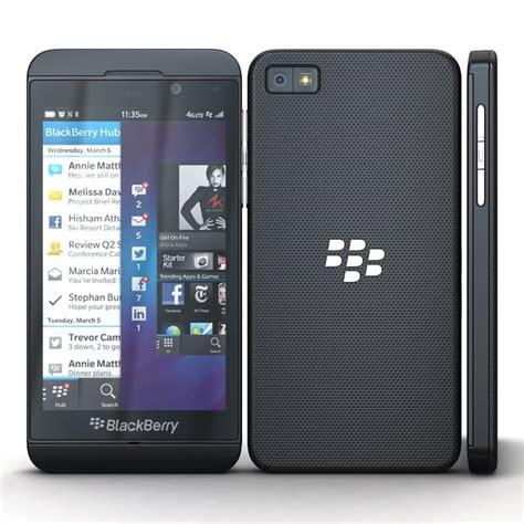 Blackberry Z10 Black Ori 3ds max blackberry z10 black cellphone