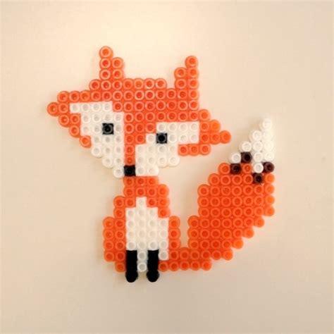 perler bead fox perler fox fox