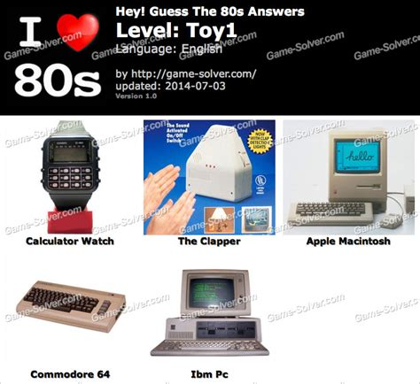 calculator game level 24 hey guess the 80s toy 1 answers game solver