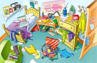 My Bedroom Clipart Teaching Organization And Responsibility With Pigsty