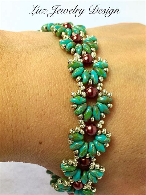 beadwork bracelet beadwork bracelet armb 228 nder perlen und perlenschmuck