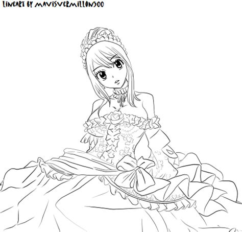 lucy fairy tail anime coloring pages coloring pages