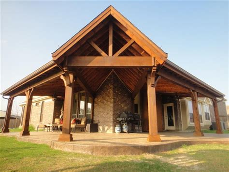 Patios Dallas Full Gable Patio Covers Gallery Highest Quality