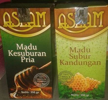 paket madu kesuburan aslam untuk pria dan wanita pondok ibu