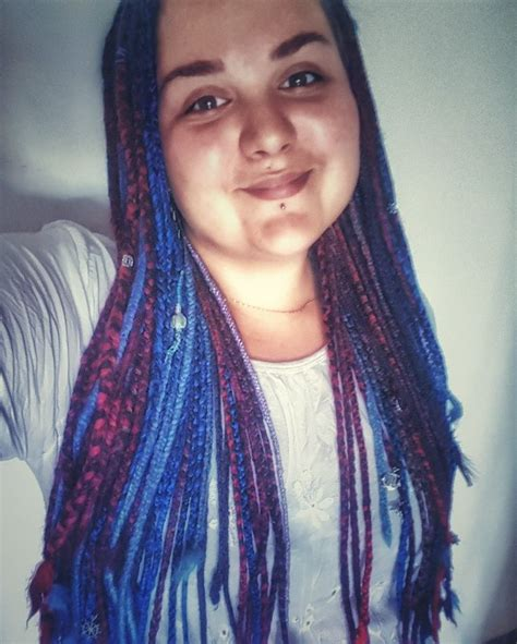 colorful box braids 25 best ideas about colored box braids on