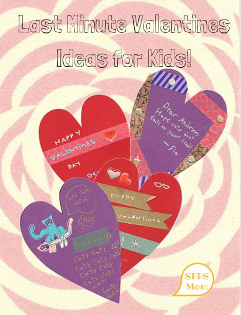 last minute valentines last minute valentines ideas for