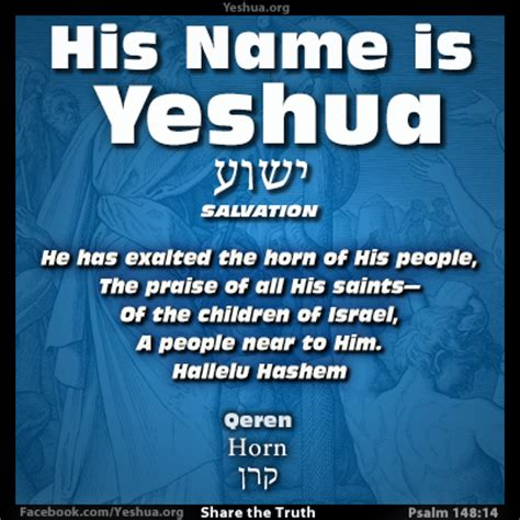 fulfilled prophecies and connections of yeshua hamashiach jesus the messiah tract book format books psalm 148 14 15 horn of salvation yeshua