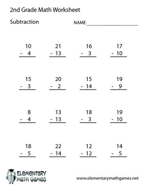 addition subtraction worksheets 2nd grade worksheet