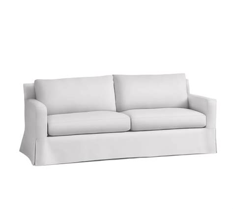 square arm sofa slipcover york square arm furniture slipcovers pottery barn