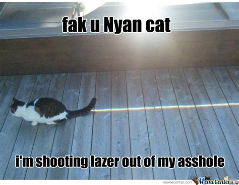 Fak U Meme - fak u nyan cat by ducani meme center