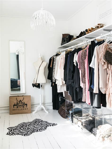 clothing storage small room open closet ideas for small spaces