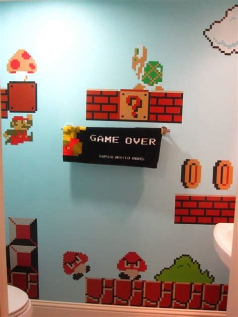 Mario Bros Bathroom by Mario Bathroom Expect Your Stay To Be Extensive