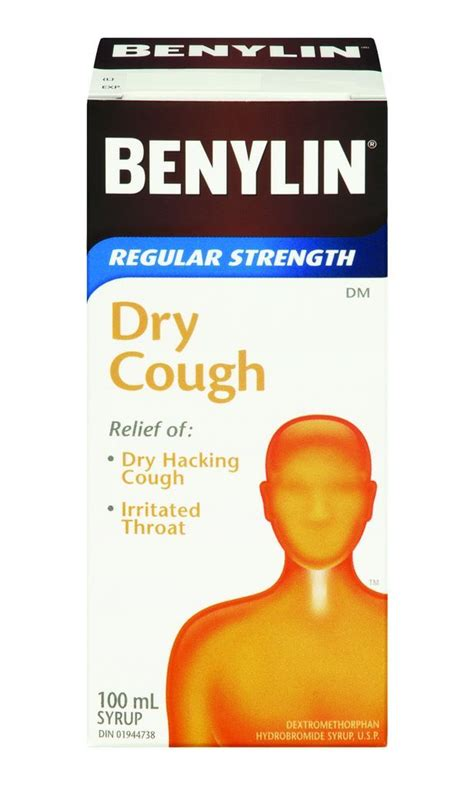 dry couch buy benylin dry cough extra strength syrup 100 ml from