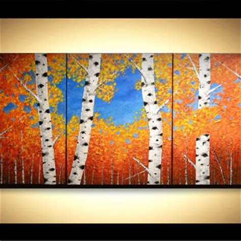 modern home decor abstract tree painting birch trees best aspen tree art products on wanelo