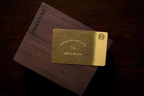 Starbucks Card Usa 1 starbucks exclusive 5 000 giftcard is made from 10