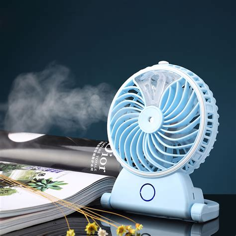 Kipas Angin Embun Tornado kipas angin air embun usb rechargeable mini fan portable