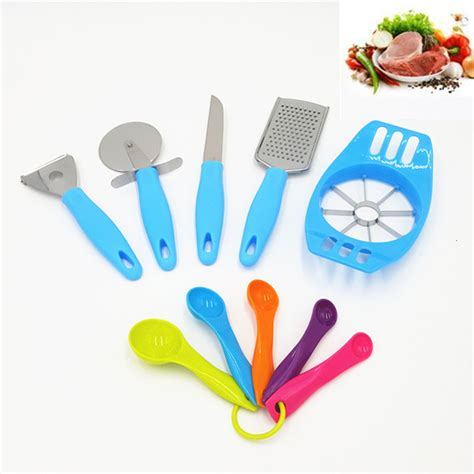 1set And Spoon Desert 竭ァ10pcs kitchen accessories 牆ァ齦 齡牆ィ cooking cooking tools set cheese slicer 竓ア paring paring knife