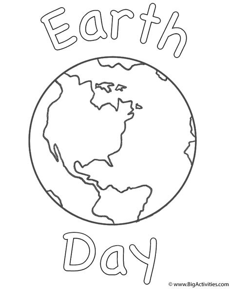 printable coloring page planet earth planet earth printable page 3 pics about space