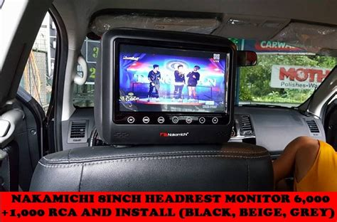 Tv Headrest Innova welcome clifford paint and bodykits
