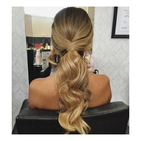 Ponytail Hairstyles Accessories by 40 Simple Ponytail Hairstyles Liked On