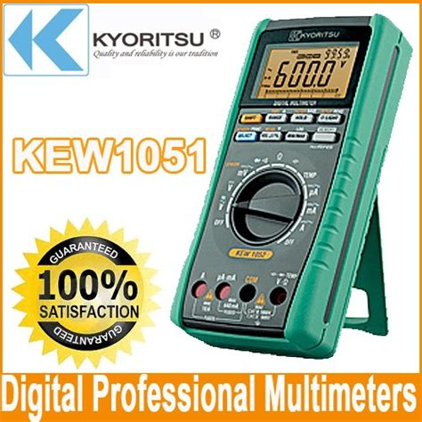 Multimeter Digital Kyoritsu kyoritsu 1051 digital multimeter