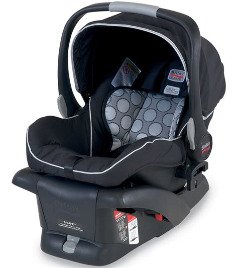 and black car seat britax b safe infant car seat black