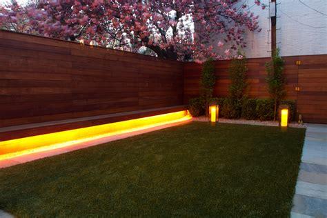 modern landscape lighting landscape lighting ideas landscape modern with bench