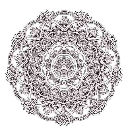 mystical mandala coloring book pdf meditation 18 free coloring pages for adults