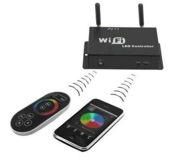 control lights with smartphone wf300 wifi spi controller for lpd 6803 dream color led