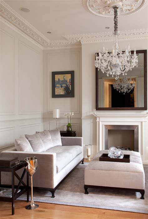 elegant home interiors crown molding ideas for vaulted ceilings