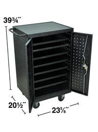 12 tablet chromebook computer charging cart from 433 00 17 best images about digital quot containers quot for the
