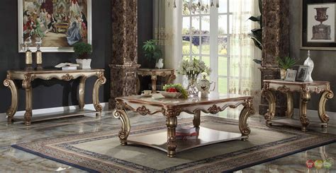 Traditional Table Ls For Living Room - vendome living room set vendome collection furniture