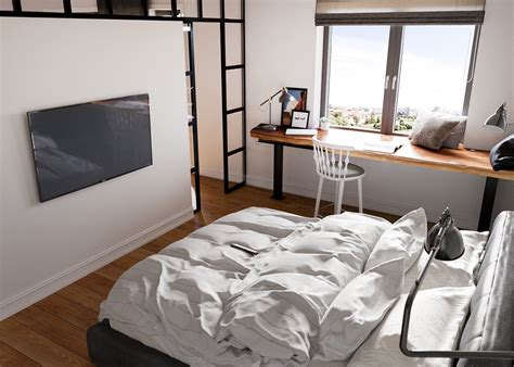 Schlafzimmer Inspiration by A Beautiful One Bedroom Bachelor Apartment 100