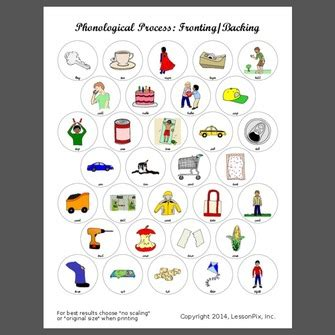 backing phonological process worksheets all worksheets 187 backing phonological process worksheets