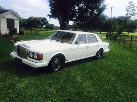 bentley white 4 doors 1989 bentley mulsanne s sedan 4 door 6 8l white tan