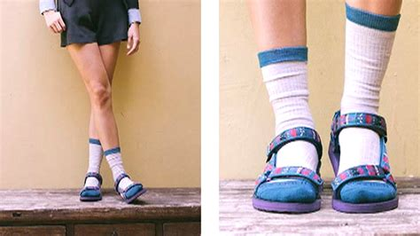 socks with sandals song socks and sandals are a new trend as s driveway