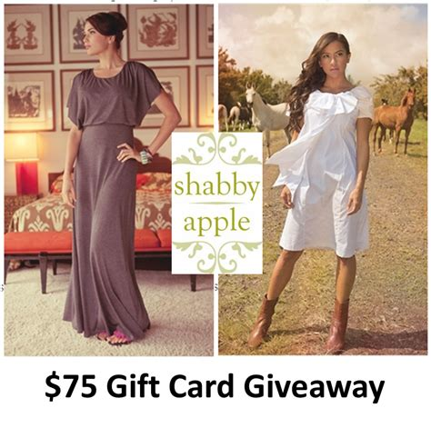 i heart pears 75 shabby apple gift card giveaway