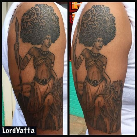 african queen tattoos 25 best ideas on