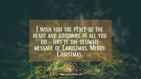 peace   heart  goodwill        ultimate message