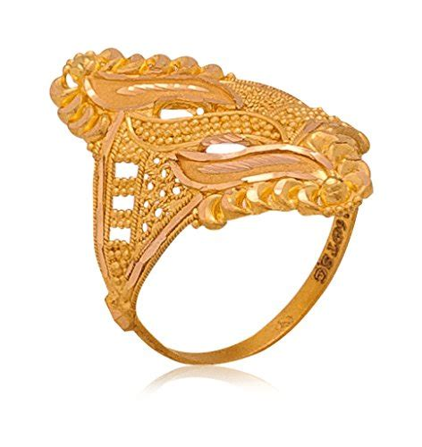 Gold Ring Design For Images by Senco Gold Aura Collection 22k Yellow Gold Ring Rings