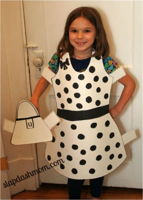 How To Make A Paper Doll Costume - top 10 diy last minute costumes for and