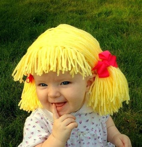 pics of cabbage patch dolls hairstyles cabbage patch wigs for babies becomes latest trend amanda