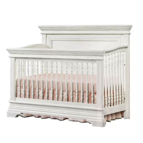 classic traditional white 4 in 1 convertible crib